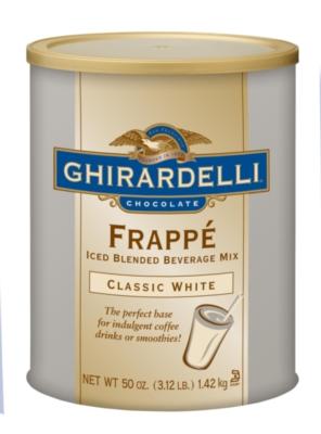 Ghirardelli Frappe Classico - 3.12 lb. Can