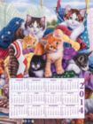 Loads of Kittens 2014 Calendar - 500pc Jigsaw Puzzle By Sunsout