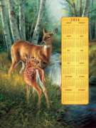 Birch Creek Family 2014 Calendar - 500pc Jigsaw Puzzle By Sunsout