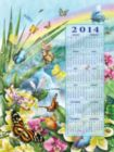 Butterfly Season 2014 Calendar - 500pc Jigsaw Puzzle By Sunsout