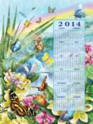 Jigsaw Puzzles - Butterfly Season 2014 Calendar