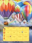 Balloon Fest 2014 Calendar - 500pc Jigsaw Puzzle By Sunsout