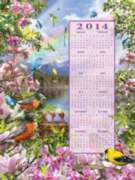 Spring 2014 Calendar - 500pc Jigsaw Puzzle By Sunsout