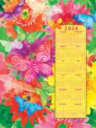 Butterfly Riot 2014 Calendar - 500pc Jigsaw Puzzle By Sunsout