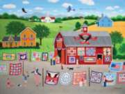 Patchwork America - 500pc Jigsaw Puzzle By Sunsout