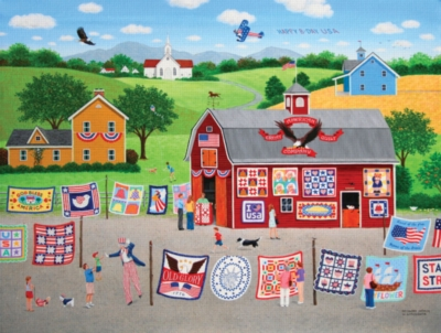 Jigsaw Puzzles - Patchwork America