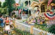 Jigsaw Puzzles - Cape May on the 4th of July