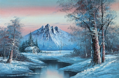 Snowy Heaven - 1000pc Jigsaw Puzzle By Tomax