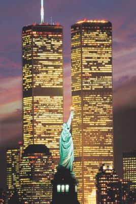 World Trade Center - 1000pc Glow in the Dark Jigsaw Puzzle By Tomax