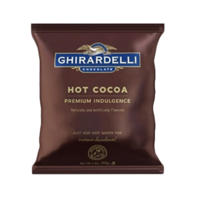 Ghirardelli Premium Water Soluble Hot Cocoa: Double Chocolate - 2 lb. Bag