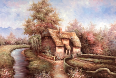 Cottage - 300pc Jigsaw Puzzle By Tomax