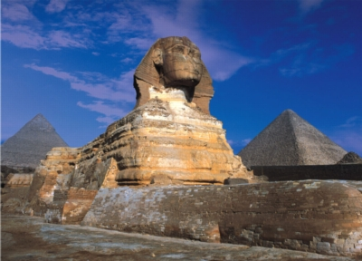 The Great Sphinx of Giza - 500pc Glow in the Dark Jigsaw Puzzle By Tomax