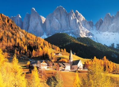Dolomiti, Italy - 500pc Glow in the Dark Jigsaw Puzzle By Tomax