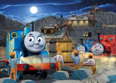 Jigsaw Puzzles for Kids - Thomas & Friends� - Night Work