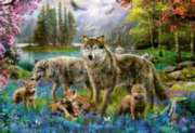Wolf Family - 500pc Jigsaw Puzzle By Educa