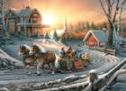 Pleasures of Winter - 1000pc Jigsaw Puzzle by White Mountain
