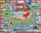 Cape Cod, MA - 1000pc Jigsaw Puzzle by White Mountain