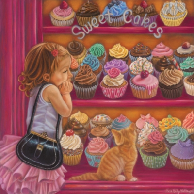 My Little Cupcake - 1000pc Jigsaw Puzzle By Sunsout