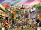 Medieval Village - 1000pc Jigsaw Puzzle By Sunsout