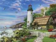 Old Sea Cottage - 1000pc Jigsaw Puzzle by White Mountain