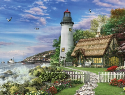 Jigsaw Puzzles - Old Sea Cottage