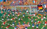 Soccer - 1000pc Jigsaw Puzzle by Piatnik
