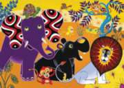 Tinga Tinga Tales� -Jungle Gathering - 35pc Jigsaw Puzzle By Ravensburger