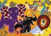 Jigsaw Puzzles for Kids - Tinga Tinga Tales� -Jungle Gathering