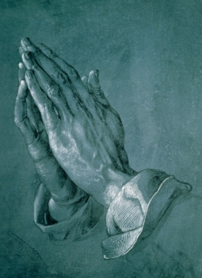 Praying Hands - 500pc Jigsaw Puzzle By Tomax