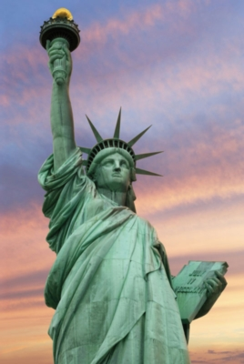 Statue of Liberty, New York City - 1000pc Jigsaw Puzzle By Tomax