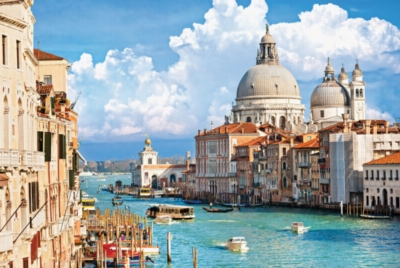 Venice with Grand Canal in Italy - 1000pc Jigsaw Puzzle By Tomax