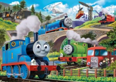 Jigsaw Puzzles for Kids - Thomas & Friends� - Busy Bridges