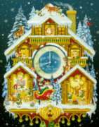Christmas Puzzles - Christmas Cuckoo Clock