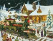 Santa's Express - 1000pc Jigsaw Puzzle