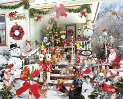 Crazy Christmas - 1000pc Jigsaw Puzzle by White Mountain