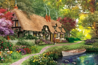 Cozy Cottage - 300pc EZ Grip Jigsaw Puzzle By White Mountain