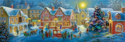Jigsaw Puzzles - Christmas Village Panorama