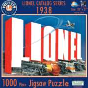 Lionel Catalog Series 1938 - 1000pc Jigsaw Puzzle By Sunsout