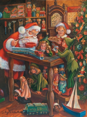 Jigsaw Puzzles - Santa's Workshop