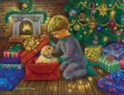 A Golden Christmas - 1000pc Jigsaw Puzzle by Sunsout