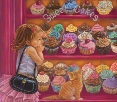 Large Format Jigsaw Puzzles - Sweetcakes