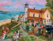 Lighthouse Surprise - 1000pc Jigsaw Puzzle by Sunsout