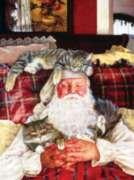 Jigsaw Puzzles - Santa's Cat Nap