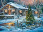 Cold Creek Stop - 1000pc Jigsaw Puzzle By Sunsout