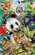 Animal Magic - 100pc Jigsaw Puzzle by Sunsout