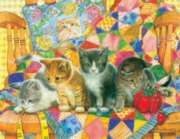 Rocking Kittens - 1000pc Jigsaw Puzzle by Sunsout