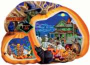 Enter if You Dare - 1000pc Shaped Jigsaw Puzzle By Sunsout