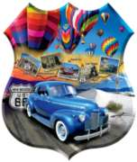Enchanted Highway - 1000pc Shaped Jigsaw Puzzle By Sunsout