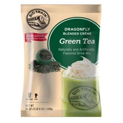 Big Train Blended Ice Green Tea Smoothie (Dragonfly) - 3.5 lb. Bulk Bag