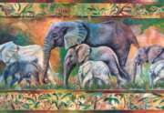 Parade of Elephants - 1000pc By Castorland